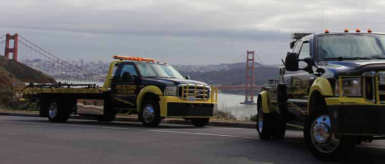 Payless Towing Trucks Golden gate bridge