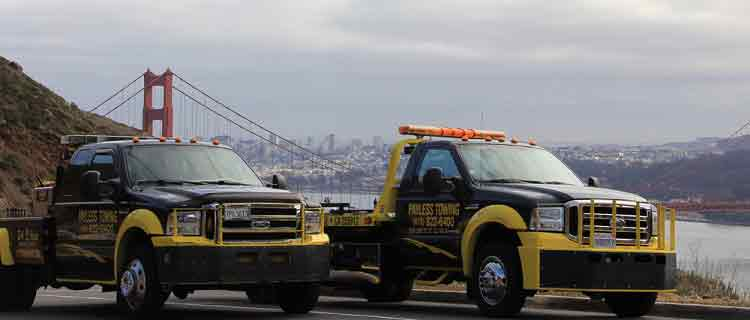 Payless Towing at goldengate